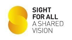 Sight for all logo to treat cataract and glaucoma and retinal disease to improve vision
